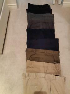 Men's Haggar pants 10 pairs