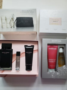 Box set parfum NEW DKNY, Darphin, Narsico from the stores...
