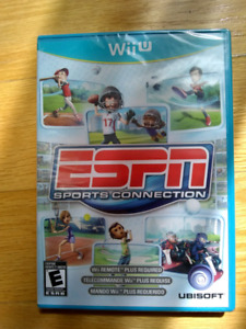 New sealed ESPN Sports Connection game for WiiU