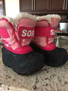 Toddler Sorel winter boots Kitchener / Waterloo Kitchener Area image 3