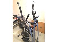 V Fit Cross Trainer with exercise bike