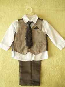 Boy 4 piece dress suit