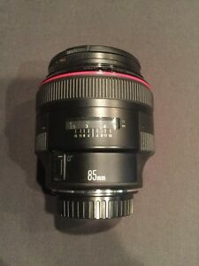 Canon EF 85mm f 1.2