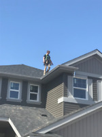 Eavestrough, Soffit, Fascia      Year Round Installations