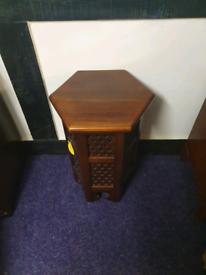 A real nice drak wood hall table