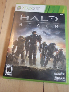 XBOX 360 HALO Reach Video Game Complete