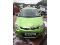 2012 Hyundai I20 very low mileage
