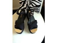 River island wedge sandals new size 6