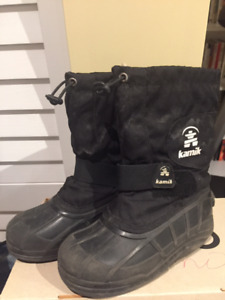 Kamik Winter boots for Boys size 2