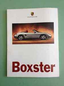 1996 Porsche Boxster Official Canadian Showroom Brochure