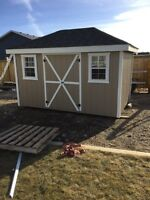 8x12 mini barn or Storage garden shed for sale