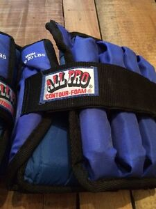 All Pro 19lbs Ankle Weights