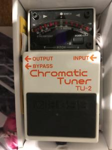 Vox wah and Boss chromatic tuner
