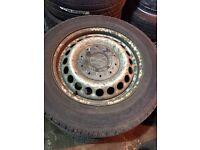 Volkswagen transporter steel wheels