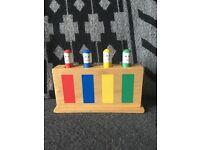 Great GALT Wooden Pop Up Toy