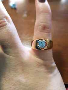 High quality 18k gold plated ring Windsor Region Ontario image 3