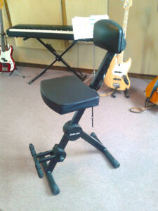 Two Quik Lok Fully Adjustable Music Performance Stools