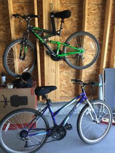 Two 26 inch bike