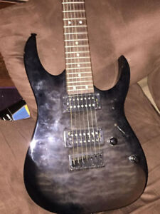 7 String Guitar Ibanez Gio