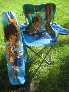 chaise pliante d'enfant