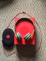 Lime Green Beats By Dr. Dre Solo HD's