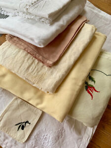 European Table Linens - Excellent Condition - All Sizes - Must t
