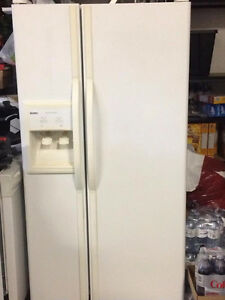 white kenmore side by side refrigerator