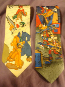4-Ties Novelties Bugs Bunny Neck Ties & The Gang Peterborough Peterborough Area image 2