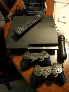 PS3 Sony PlayStation 3 with games