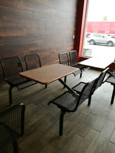 Table and Chair sets for Restaurant