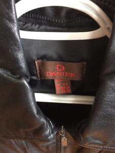 DANIER' Leather Coat -- (Sz. 2-4) NEW