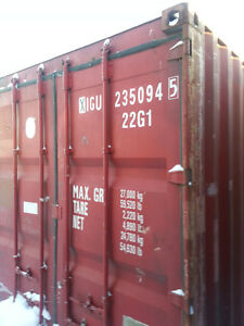 40' high cube nice condition sea can in Fort Mac FOR SALE