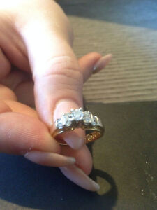 14k Engagement Ring with 0.50ct Diamonds