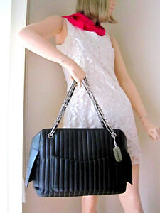 Chanel Black Lambskin Large Mademoiselle Tote Bag North Shore Greater Vancouver Area image 5