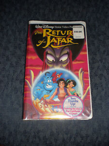 SET OF BRAND NEW DISNEY VHS MOVIES  NEVER OPENED!  FIRST $80 TAK