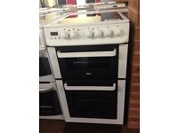 ZANUSSI 50 CM WIDE ELECTRIC COOKER WITH GUARANTEE