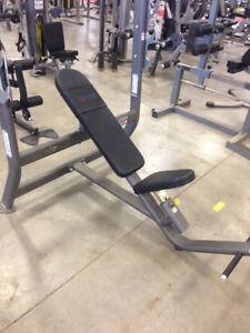 FLAMAN FITNESS OLYMPIC COMMERCIAL BENCH PRESS