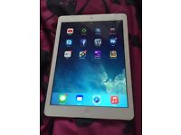 Apple iPad Air in white 16gb wifi only