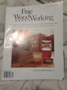 Fine Woodworking Magazine Kijiji In Ontario Buy Sell Save