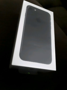 Brand New Iphone 7 Black 32gb Sealed/Unopened !