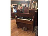 Antique organ needs gone today.