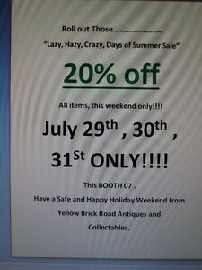 """Roll Out Those """"Lazy, Hazy, Crazy, Days of Summer Sale"""""""