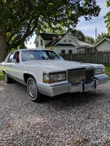 1991 Cadillac Fleetwood Brougham D'Elegance