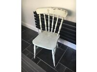 Wooden chair - perfect upcycling project