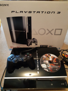 PLAYSTATION 3 with 1 Controller - LIKE NEW