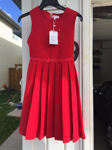 Kids Red Dress and Jacket