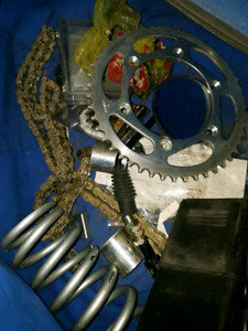 Snowbike / timbersled fit kit and conversation parts for wr450