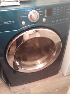 LG Dryer with a pedestal for sale