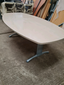 Executive maple board room table