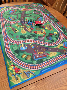 Imaginarium Train Mat and 2 Trains
